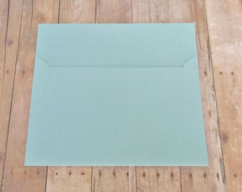 Light Blue Matte Envelopes - 4x6 (A6) Mailable - Greeting Cards, DIY Invitation Envelopes, Wedding, Birthday, Shower Invitations - Set of 10