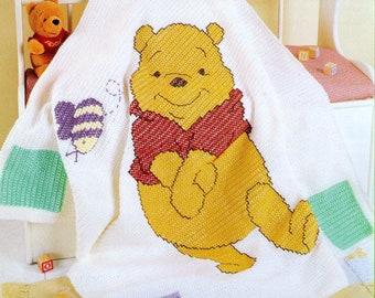 Pooh cross stitch Etsy