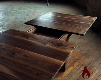 Michigan Avenue Dining Table - Black Walnut Dining Table