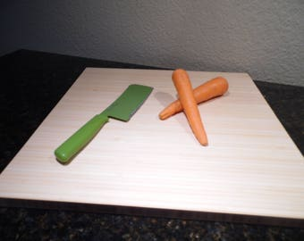 Bamboo Cutting Board, Entertaining, Gift, Food Grade Sealed Board, Cutting Board, Bar Board