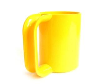 2 Available - Heller Massimo Vignelli Mug Yellow Melamine Maxmug