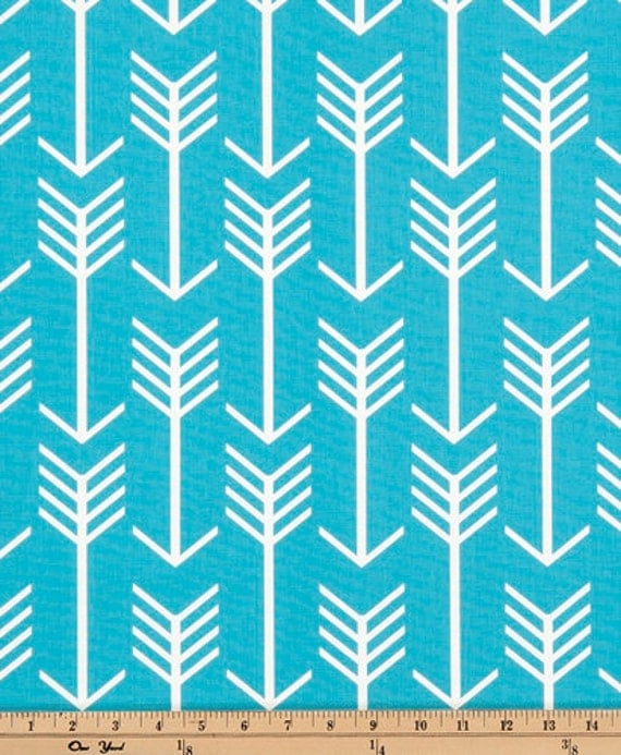 "Premier Prints Arrow Fabric 54"" By the Yard Macon Apache Blue"