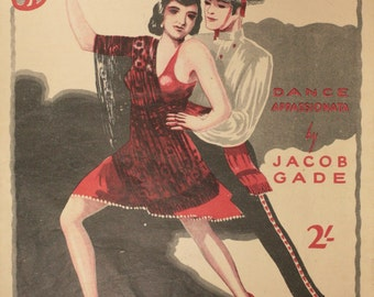 "1926 Sheet Music, ""Jealousy"""