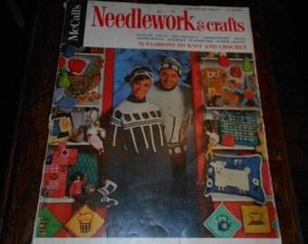 1966-1967 McCall's Needlework & Crafts Magazine