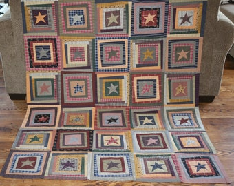Libery Star Quilt Top