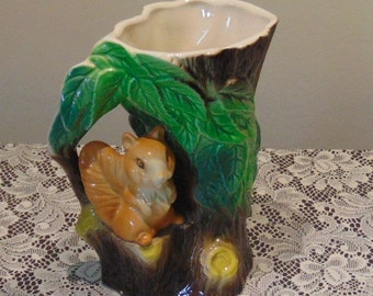 Hornsea Fauna - Squirrel Tree Jug no. 75