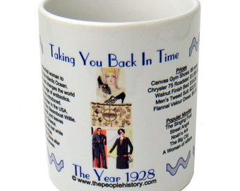 1928 Taking You Back In Time Coffee Mug