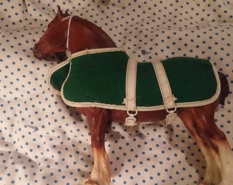 Lot of 2 Breyer Clydesdale Horses. Mare and foal.