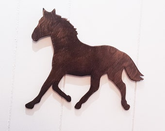 horse decor wooden horse cutout pony decor wooden pony cutout equestrian decor - Horse Decor