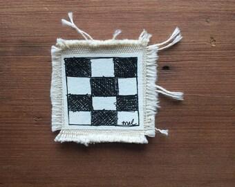 Checkard flag