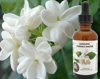 Jasmine Floral Water (Hydroflorate or Hydrosol) for use in toners, lotions, creams, clay masks after sun spray formulations.