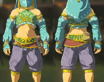 Breath of the wild link costumes commission me