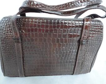 Vintage Textured Handbag