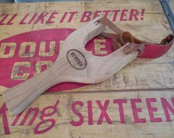 Fun Vintage Wood Hunter Sling Shot