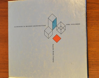 Aluminum in Modern Architecture: Two Volume Set, 1956 1st Edition