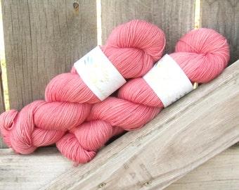 Blush - Twisty BFL - BFL/Nylon - Hand Dyed Sock Yarn