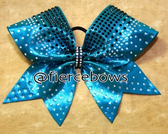 Crowning Touch Two Color Rhinestone Bow