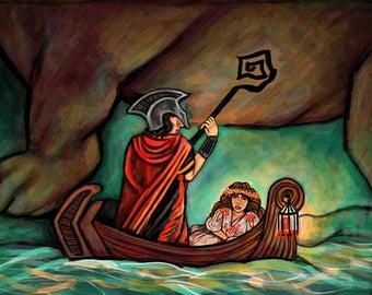 On the River Styx - Art Print