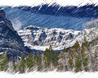 Back of Timp, Utah, Color