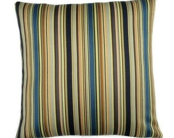 "Stripes by Paul Smith - Echoed Stripe - Maharam - 17""x17""  decor Pillow - includes feather insert"