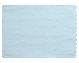 50 Light Blue Paper Placemats