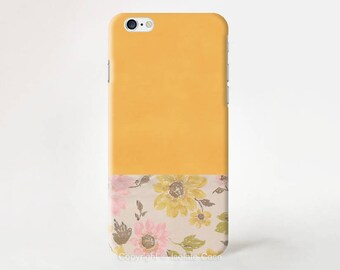 Vintage Flower iPhone 7 case iPhone 6s case Floral  iPhone 6 plus  case iPhone 5s case iPhone SE case