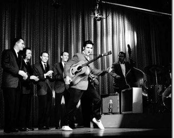 Elvis Presley ,   Elvis on October 28, 1956 on the Ed Sullivan Show