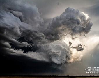 Storm Cloud, Nature Landscape, Photo Cloud, Storm Photos, Interior Design, Art Decor, Wall Art, Room Decor, Oklahoma storm, Crazy Storm