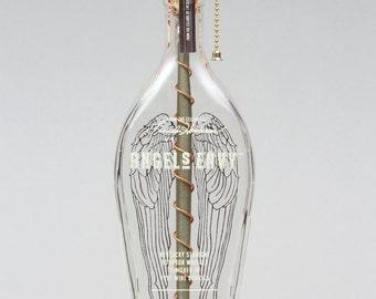 Angel's Envy Bourbon Bottle Lamp