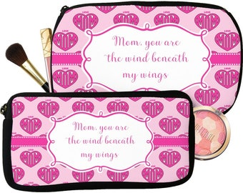 Love You Mom Makeup / Cosmetic Bag