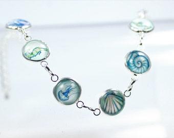 """Bracelet """"Atlantis"""", silver"""