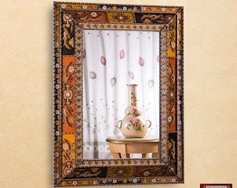 extra large wall mirror decorative u0027golden gardenu0027 ornate bathroom mirrors peruvian
