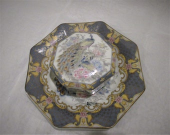 Japanese Trinket Box and Plate - Leonardo Collection