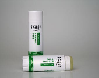 Dill Pickle and Pizza Balm Lip Butter Set of Two