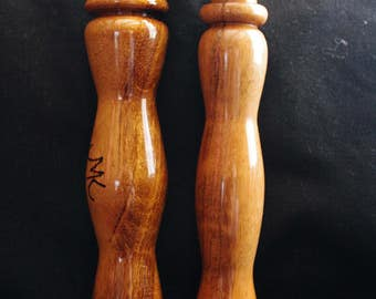 Handcrafted knitting loom handle/hook - Tigerwood