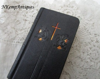 Antique prayer book frenchword for the collector