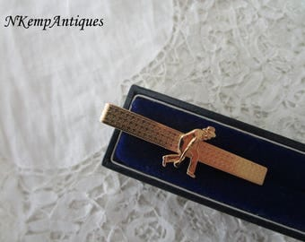 Bowling tie clip stratton made in England
