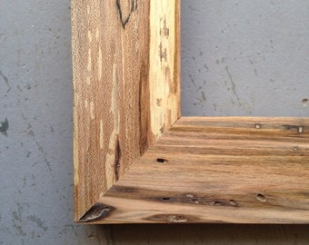 Custom 11x14 Maple Wood Picture Frames