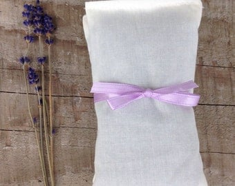 Set of Two Lavender Dryer Sachets, natural home, clean home, housewarming gift, home and garden gift
