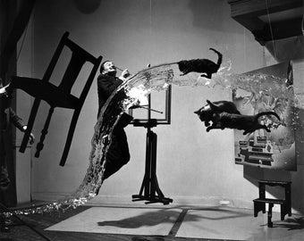 Salvador Dali A (Dali Atomicus), 1948