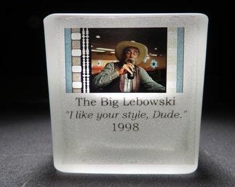 The Big Lebowski - Glass Candle Votive