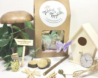 Fairy Garden Kit, Fairy Birthday Gift, Fairy Party Favour, Flower Girl Gift.