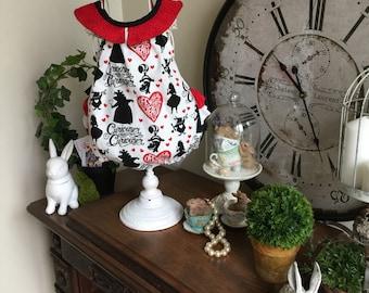 Wonderland Queen of Hearts Ruffle Bum Darling Playsuit