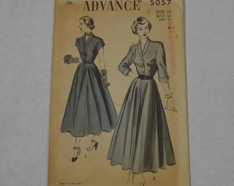 Vintage Advance Dress Pattern 5057