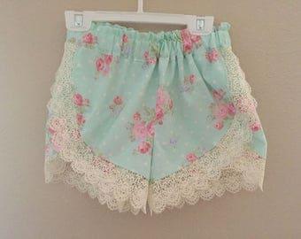 Shabby Chic Lace Shorts