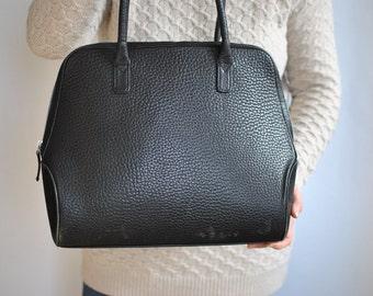 Vintage VOI TOTE BAG , leather bag ...........(354)