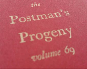 Postman - Large Funny Notebooks, Journals, Jotters, Cahiers
