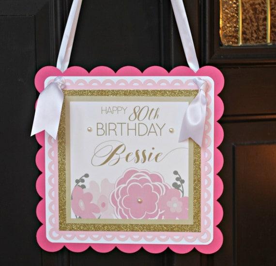 80th birthday party decoration ladies milestone birthday for 80th birthday decoration