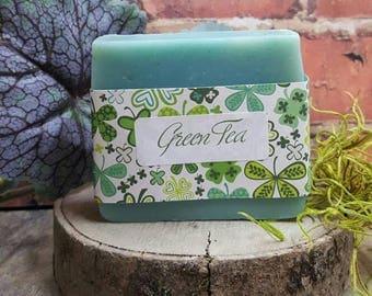 Handmade soap - Green Tea