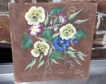 Original Oil Painting of  Flowers Picture Floral